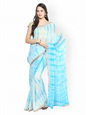 Designer Cotton Tie Dye Sarees