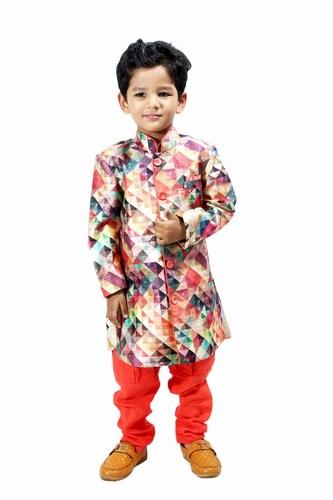 Boys Printed Kurta Pajama, Children Indian wear