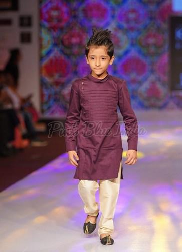 Designer Wedding Kurta Pajama for Kids