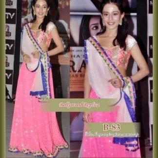 Bollywood Actress Amrita Rao in Beautiful Pink Lehenga-0