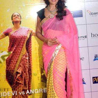Bollywood Actress Bipasha Basu in Goegeous Masaba Gupta's Saree-0