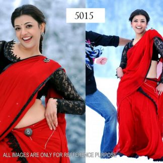 Sterling Bollywood Actress in Enticing Red Designer Saree-0