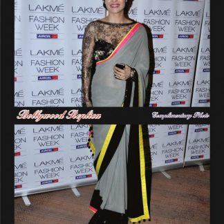 Buy Online Bollywood Personality Kajol's Grey Saree-0