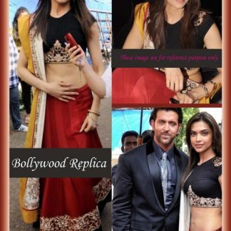 Bollywood Replica Deepika Padukone Beautiful Cotton Silk Lehenga-0