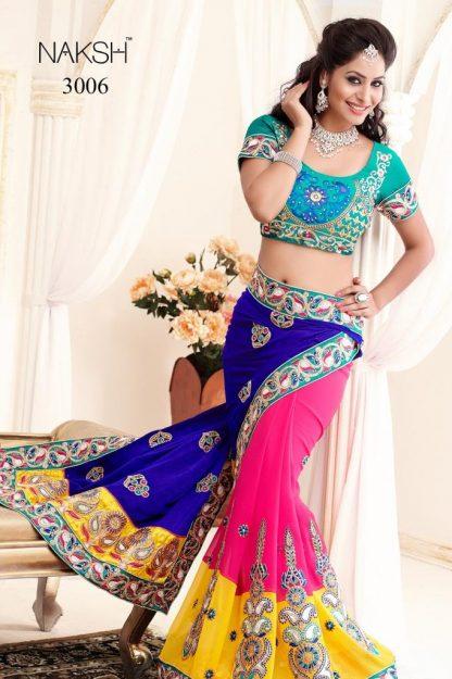 Designer Stylish and Elegant Multi Colour Saree-0