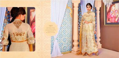 Beautiful Off White Designer Net Salwar Kameez-0