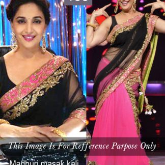 Stylish Madhuri Dixit in Pink Lehenga-0