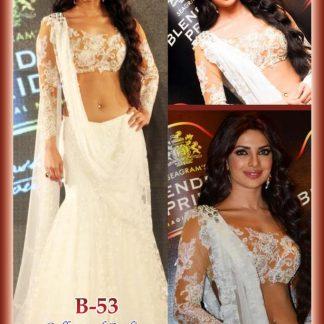 Gorgeous Actress Priyanka Chopra in Beautiful Net Lehenga-0