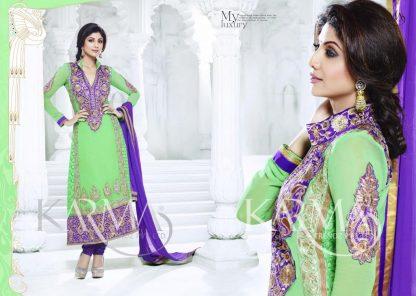 Shilpa Shetty Elegant Designer Salwar Suit-0
