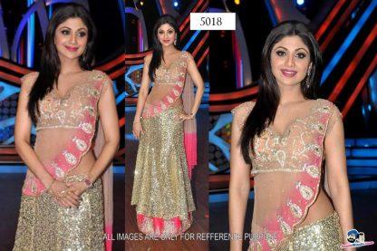 Bollywood Replica Shilpa Shetty Designer Lovely Lehenga-0