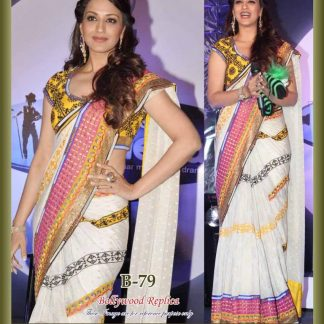 Beauty Actress Sonali Bendre in Beautiful White Saree-0