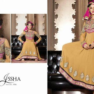 Gorgeous Actress Esha Kopikar in Beige Designer Salwar Kameez-0