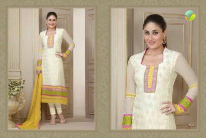 Bollywood Replica Kareena Kapoor in Cream Color Suit-0