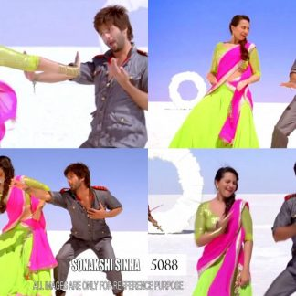 Sonakshi Sinha Fabulous Bright Coloured Lehenga-0