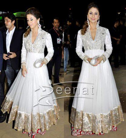 Gorgeous Urmila Matondkar in a Heavy White Dress-0